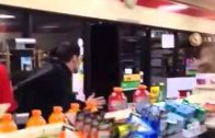 Drunk Couple Mess Around With The Wrong 7-11 Cashiers!