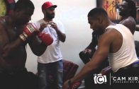 Gucci Mane Does Boxing Training