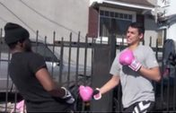 Extreme Boxing Matches In The Hood!