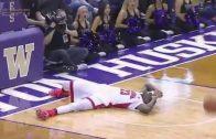 He Had One Job: Arizona's Rondae Hollis-Jefferson Slips & Falls During Breakaway Dunk Attempt!
