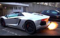 Lamborghini Aventador Roadster Wrapped In Satin Chrome