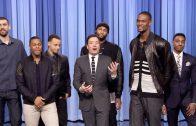"""NBA All-Stars Get Revenge On Jimmy Fallon For """"Superlatives"""""""