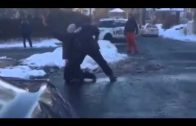Police Officer Holds Teens At Gunpoint Over A Snowball Fight!