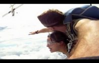 Skydivers Almost Get Sliced Up By The Plane They Just Jumped Out Of!