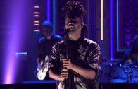 "The Weeknd Performs ""Earned It"" On Jimmy Fallon"