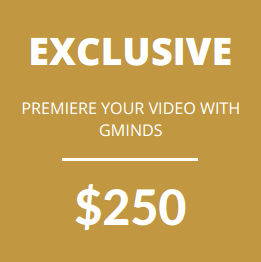Premiere your video with GMinds