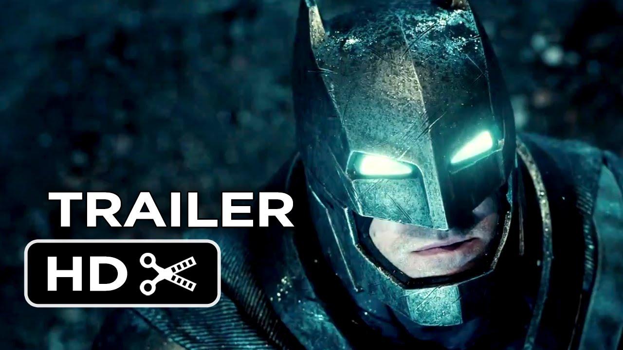 Batman v Superman: Dawn of Justice (HD Movie Trailer)