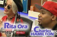 Charles Hamilton & Rita Ora On The Breakfast Club