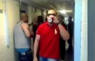 Convicted Murderer Is Filmed Drinking Prison Wine & Having A Party In Prison!
