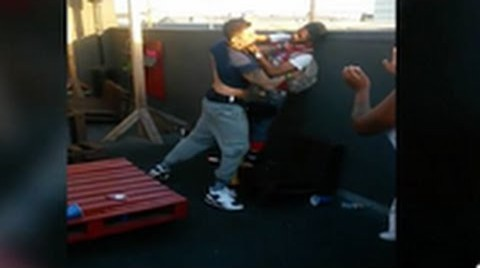 Hostility: Dizaster & Billy Boondocks Get Into A Scuffle After Heated Argument!