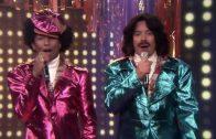 "Pharrell & Jimmy Fallon Perform Together As ""Afro & Deziak"""