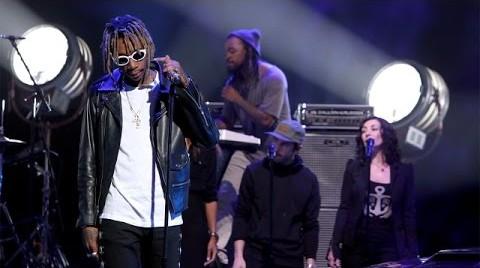"Wiz Khalifa & Charlie Puth Perform ""See You Again"" On Ellen"