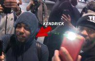 Kendrick Lamar Trolls Paparazzi By Filming Them