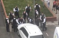 """Armed Man Tasered By UK Police After Allegedly Shouting """"I Am Your King"""" During Tense Stand-Off!"""