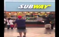 Gave No F*cks: Employee vs. Manager At Subway In The Mall!