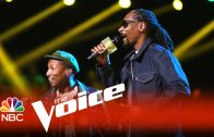 "Snoop Dogg & Pharrell Perform ""California Roll"" On The Voice"