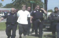 """Dash Cam Footage Of Charleston Church Shooting Suspect """"Dylann Roof"""" Being Arrested!"""