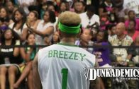 Chris Brown Dominates At The BET Celebrity Basketball Game