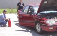 Fail: Dude Gives Car Engine Nitrous It Cant Handle!