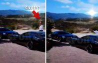 Gilbert Arenas Destroys His Car After Fight With Laura Govan!