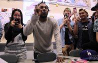 Kendrick Lamar Visits High Tech High School In New Jersey