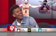 Nick Young Guesses if Lyrics are Iggy's or Kobe's