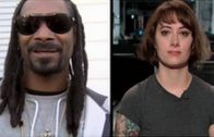 """Snoop Dogg Catching Heat For Calling A Female Videographer """"Thick"""" During An Interview!"""