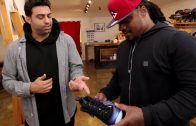 Sneaker Shopping With The Seahawks' Marshawn Lynch