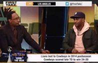 "Big Sean Talks Detroit Lions, Steph Curry On ESPN's ""First Take"""