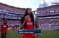 Ciara Sings National Anthem At 2015 MLB All-Star Game
