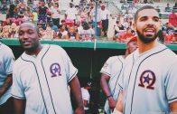 Drake & Hannibal Buress Rep Team OVO In HAW Softball Game