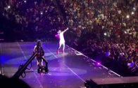 "Nicki Minaj Brings Out Lil Wayne For ""The Pinkprint"" Show In New York"