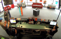 Man Armed With Handgun Tells Customer To Keep His Money As He Robs Boost Mobile Store!