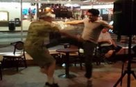 Damn: Heckler Gets Taken Out With A Kick To The Stomach By Standup Comedian!