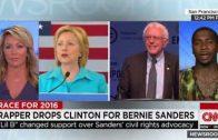 "Lil B Speaks On Endorsing Presidential Candidate ""Bernie Sanders"" Over Hillary Clinton On CNN!"