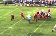 Middle School QB Cartwheels Away From Sack, Throws Touchdown On The Run!