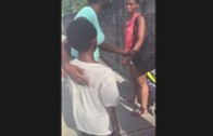 SMH: Mother Tries To Abandon Her Son In The Street!