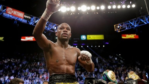 Floyd Mayweather Announces His Retirement After Beating Andre Berto My Career Is Over