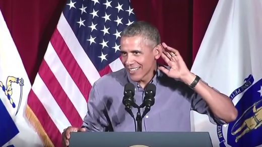 Obama-Heckled-By-Female-Admirer-At-Boston-Labor-Day-Speech!-Youre-Still-Handsome