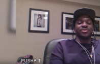 """Pusha T Annotates Lines From """"Mercy"""""""