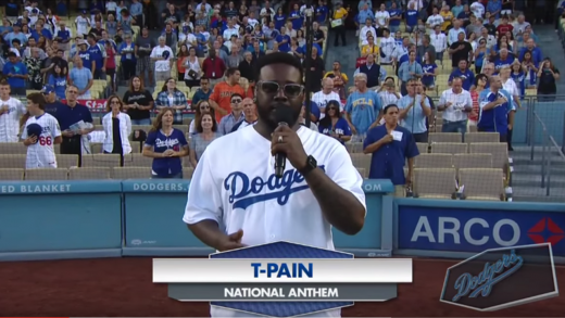 T-Pain-Sings-The-National-Anthem-At-LA-Dodgers-Game