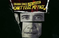 "Barack Obama Sings The Weeknd's ""I Can't Feel My Face"" (Mash Up)"