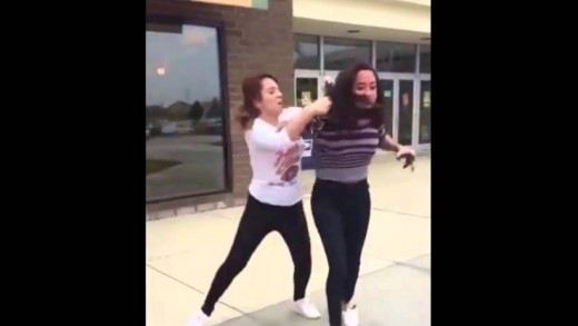 Girl Beats Up Her Boyfriend's Side Chick!