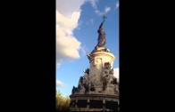 Guy Falls To His Death From A Paris Statue During A Techno Festival! (*Warning Graphic*)