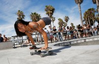 Legless Skateboarder Kanya Sesser Doesn't Let Anything Hold Her Back From Living Her Life!