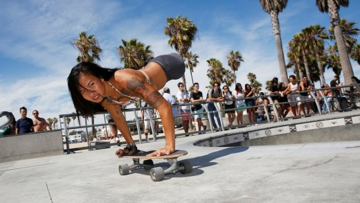 Legless Skateboarder Kanya Sesser Doesnt Let Anything Hold Her Back From Living Her Life!