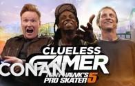 Lil Wayne Plays Tony Hawk's Pro Skater 5 With Conan O'Brien & Tony Hawk!