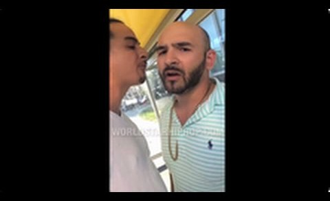 "Man Catches Dude At Bus Stop That Was Talking Sh*t To Him On Facebook ""Say You A B*tch A$$ N*gga"""