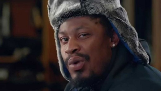 Marshawn Lynch Records A Pepsi Commercial Without Speaking!