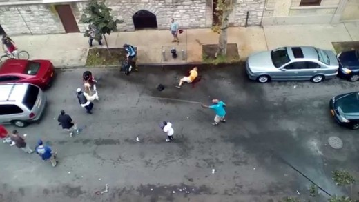 Pitbulls Attack People On The Street! (*Warning Graphic*)